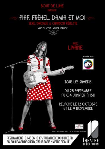 Livane au yjéâtre de dix heures à Paris