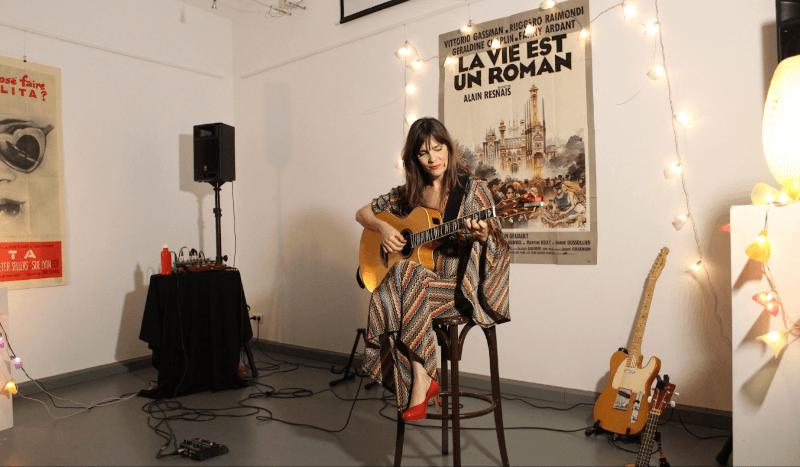 Le réseau des bibliothèques Pays d'Uzès et la médiathèque de Belvezet ont accueilli dernièrement,  la chanteuse Livane